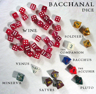 bacchanal dice